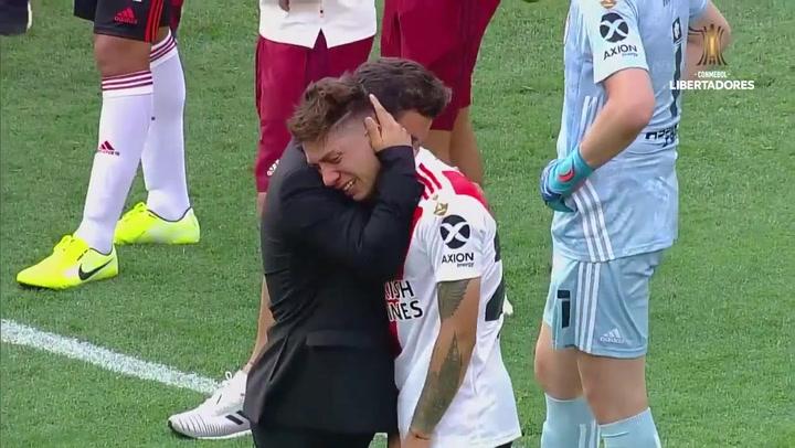 La tristeza de River Plate tras perder la final de la Libertadores