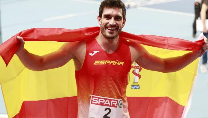 Jorge Ureña se lleva la plata en el heptatlón