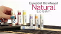 Essential Oil infused Natural Lip Balm