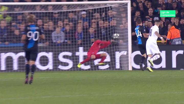 Champions League Brujas-PSG: Así ha sido el doblete de Mauro Icardi