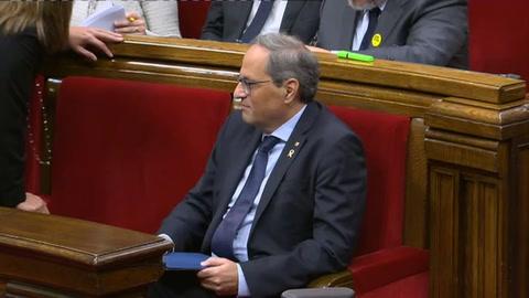 Líder catalán propone votar de nuevo sobre la independencia en su mandato