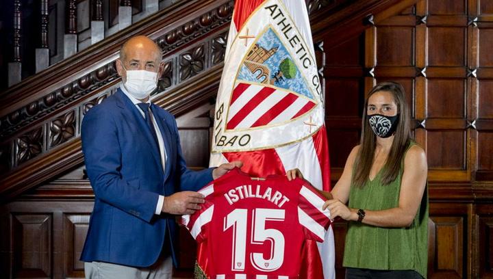 El Athletic femenino se refuerza con la primera jugadora procedente de Iparralde