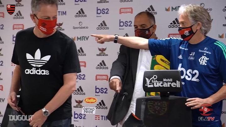 Jorge Jesus signs for Flamengo until 2021