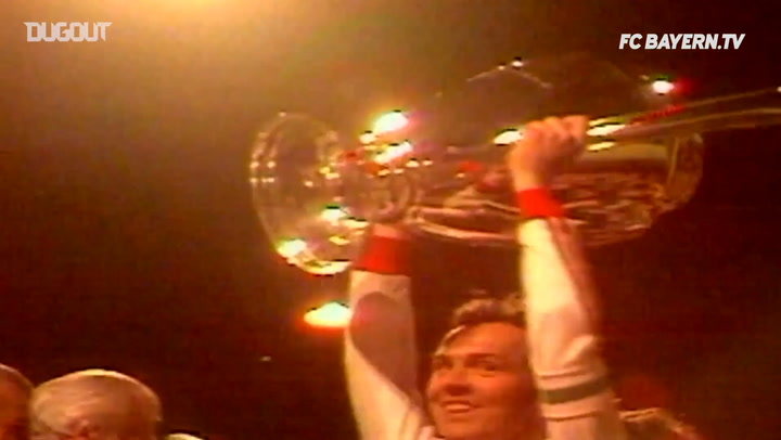 Bayern Münih'in Beş Avrupa Şampiyonluğu