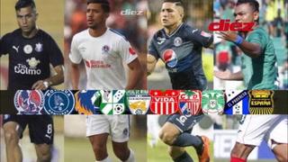 Fichajes Honduras: Los futbolistas que podrían ser traspasados
