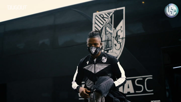 Behind the scenes of Vitória SC's away victory over Gil Vicente