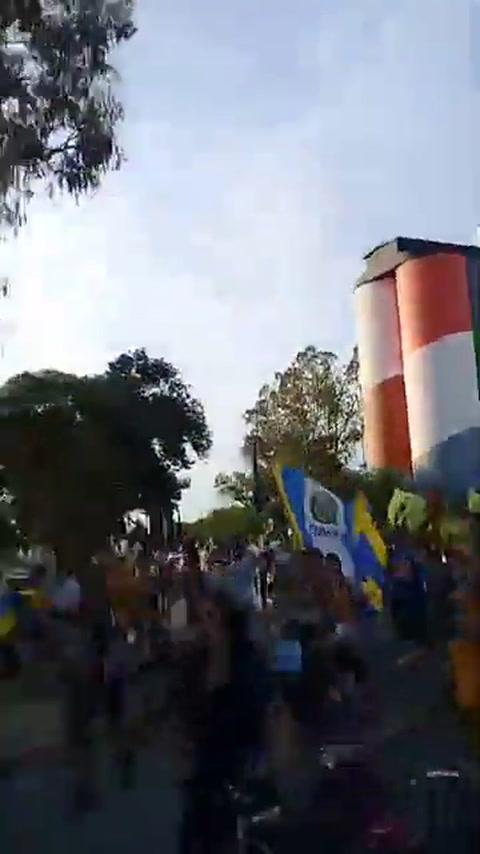 Los hinchas de Central generaron caos en la ciudad con su festejo