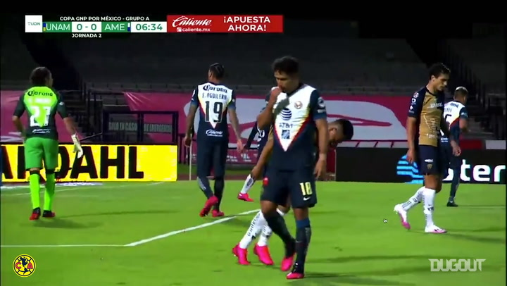The highlights from Club América's draw vs Pumas in the GNP Cup