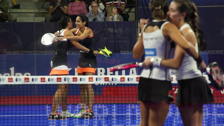 Resumen de la semifinal femenina Mapi/Majo Vs Marrero/Ortega del Santander Open