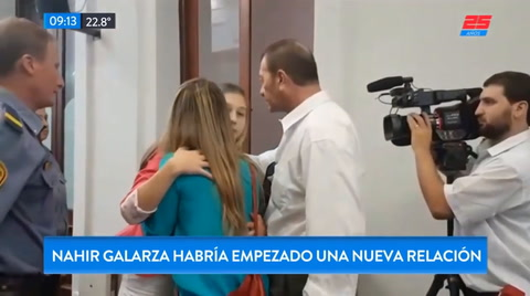 El enamorado de Nahir Galarza dijo que no le importa que ella haya matado a su novio