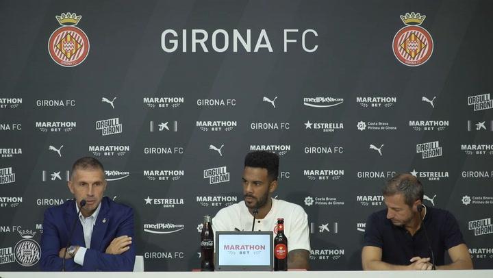 El Girona presenta a Jonás Ramalho