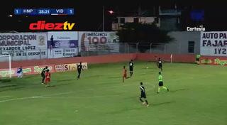 Marvin Bernárdez pone el empate para el Vida ante Honduras Progreso