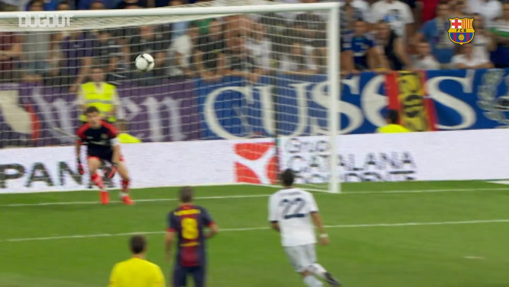 Leo Messi's 15 goals At The Santiago Bernabéu