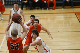 Morris/C-A boy's basketball vs Ortonville