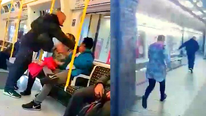 Kvinne tar affære når sidemannen blir angrepet