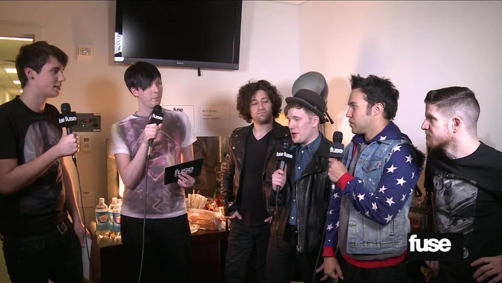 Interviews: Would Fall Out Boy Rather Relive Prom or Witness Their Own Birth?