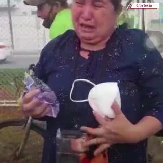 Captan a los pasajeros afectados por la bomba lacrimógena en Choloma