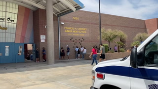 Free Covid-19 testing at 4 East Las Vegas schools in July – VIDEO