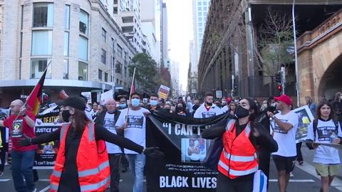 Ola de protestas en el mundo por la muerte de George Floyd