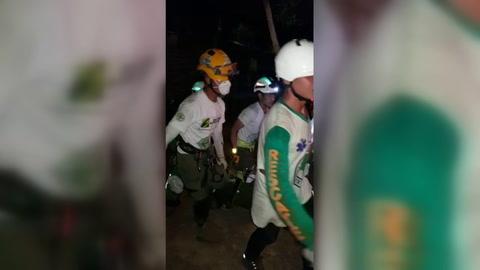Siete muertos al caer un autobús a un barranco en El Salvador