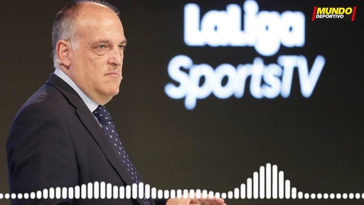 Tebas explica sus diferencias con Florentino Pérez