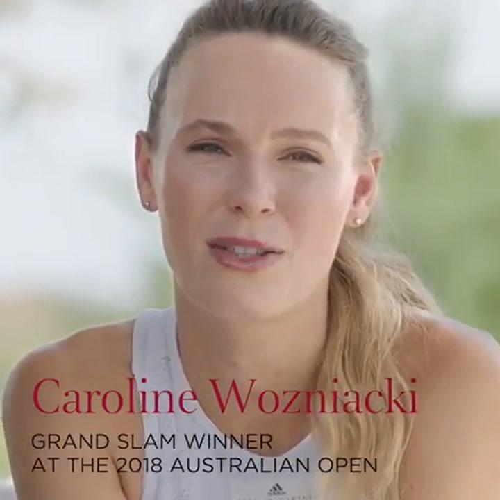 Así es la tenista Caroline Wozniacki