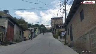 Así es el ambiente en la colonia Abraham Lincoln de Comayagüela