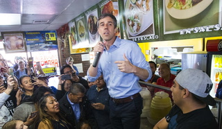 Beto O'Rourke campaigns in Las Vegas
