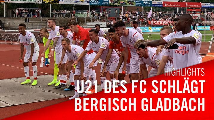 U21-Sieg gegen Bergisch Gladbach