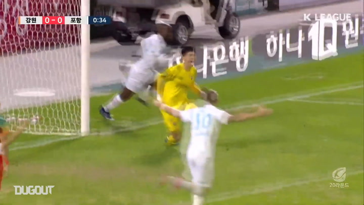 All Goals from K League Round 20