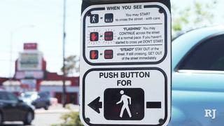 UNLV professor cautions dangers of distracted walking