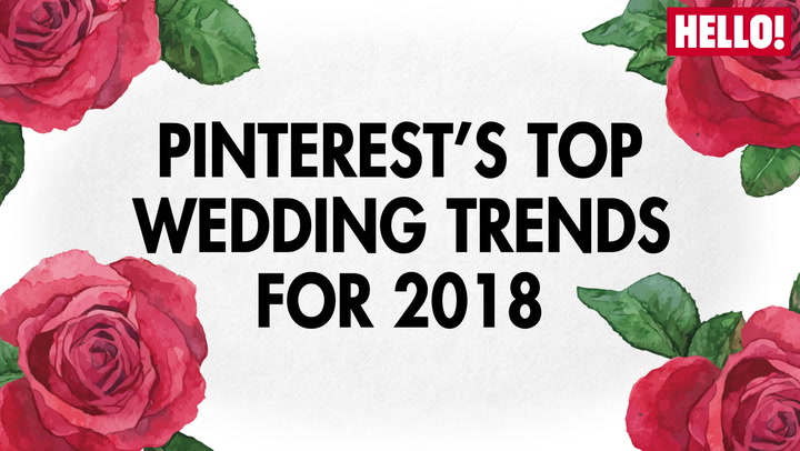 Top Wedding Trends for 2018
