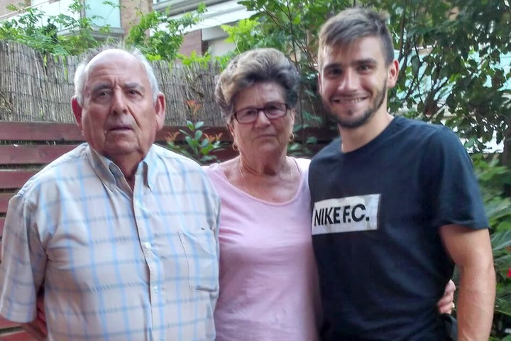 Cristian Portugués 'Portu' se convirtió en futbolista profesional gracias a su abuelo