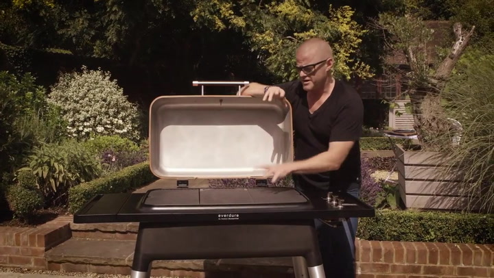 Preview image of Everdure by Heston Blumenthal Furnace Gas Braai wi video
