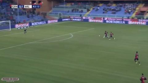 Génova 0 - 2 AC Milan (Serie A)