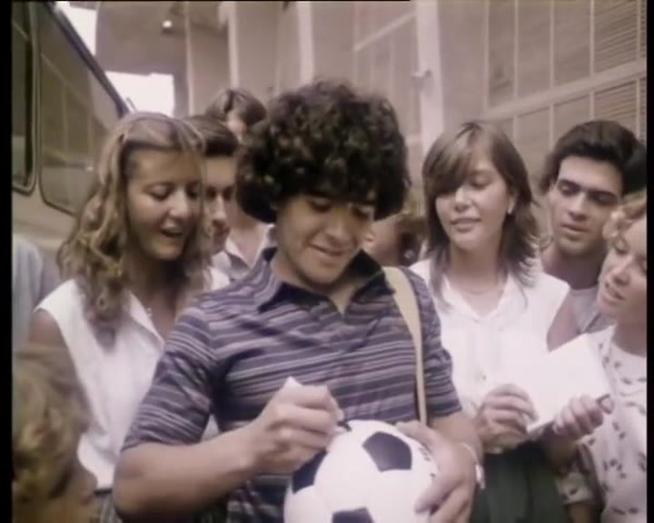 Anuncio Coca-Cola Mundial 1982 en España con Maradona