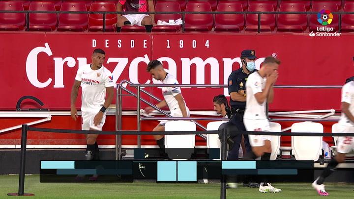 LaLiga Santander (J.34): Sevilla 1-0 Eibar