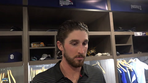 Bryan Mitchell on frustration after a quick hook
