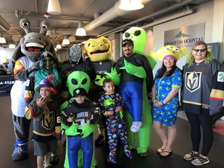 Aliens Invade City National Arena for Competition