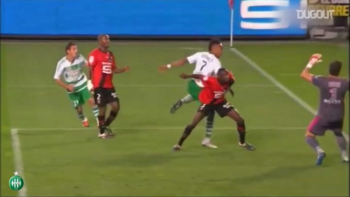 Saint-Etienne's top five goals vs Rennes