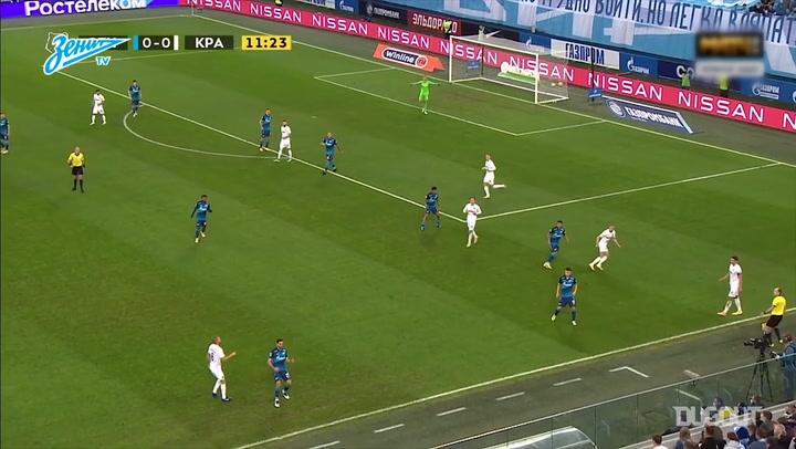 Magomed Ozdoyev's brilliant display against Krasnodar