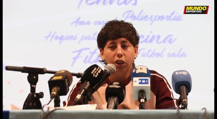 Rueda de prensa de Carla Suárez anunciando su retirada en 2020