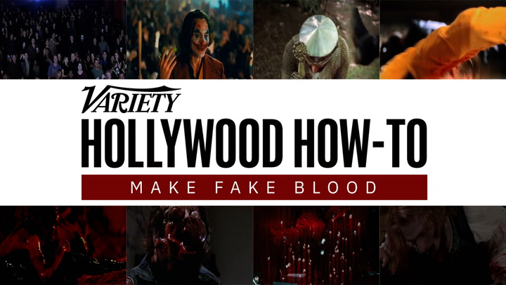 Hollywood FX Artist Teaches How to Make Fake Blood