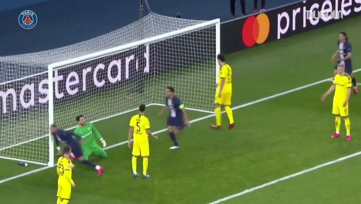 Neymar's superb header against Dortmund