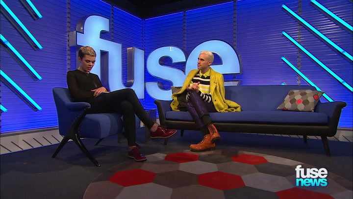 Shows: Fuse News: Neon Trees' Tyler Glenn Explains 'Pop Psychology' Album Title