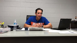Tony DeFrancesco talks about the loss to Round Rock