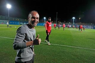 ¡Sorpresiva visita en el entrenamiento del Barcelona!