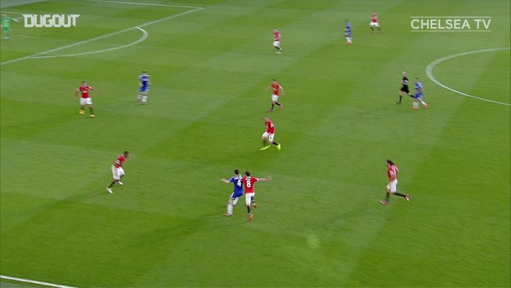 Eden Hazard adds the killer blow against Manchester United