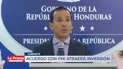 Acuerdo con FMI atraerá inversión