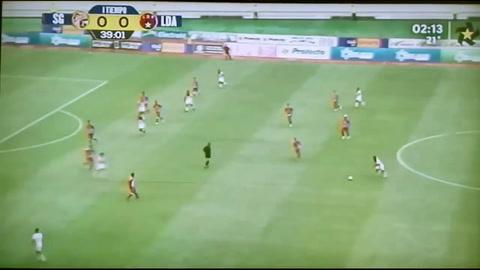 Alajuelense vence de visita al Santos de Guápiles
